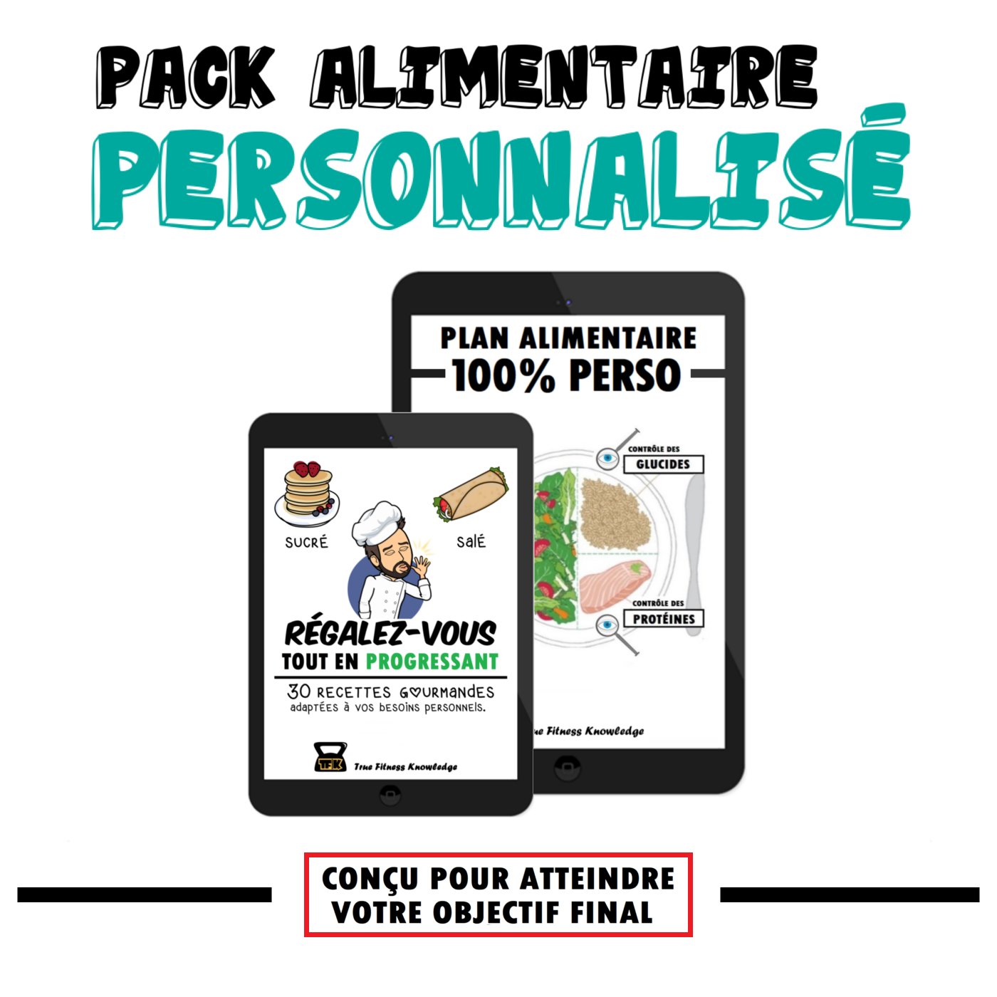 pack alimentaire perso